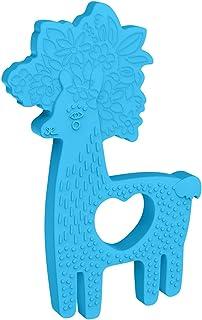 Manhattan Toy 硅胶动物形状牙胶 蓝色