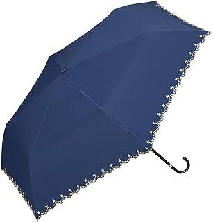 World party 遮光 迷你 共3種顏色 折疊傘 手動開合 遮陽傘/晴雨兩用 6根傘骨50cm 隔離紫外線 輕量 藍色 50cm(親骨) 801-972