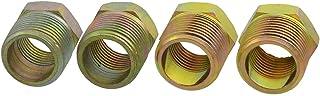 青铜色 1.91 cm PT 螺纹气动管装配连接器