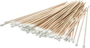 SE - Swab - Cotton, Birch Wood, 6in, 100 Pc/bag 6""