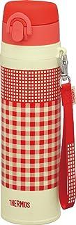 THERMOS 膳魔师 真空隔热便携式水杯 红橙色 550ml JNT-550 R-OR