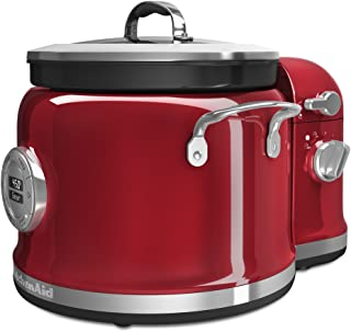 KitchenAid KMC4244CA Cooker with Stir Tower, Candy Apple 需配变压器