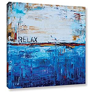 "ArtWall Jolina Anthony's Relax Gallery Wrapped Canvas, 24""x 24"""