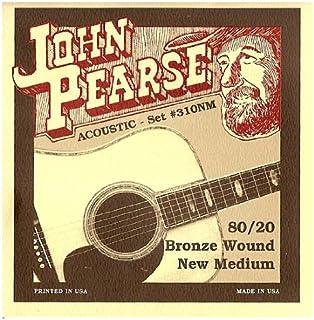 John Pearse 310NM 青铜原声吉他弦,中号
