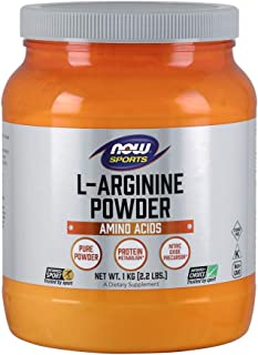 NOW L-Arginine Powder, 2.2-Pound