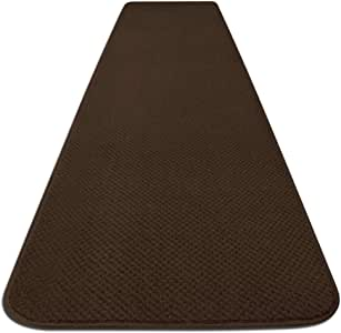 Skid-resistant Carpet Runner - Chocolate Brown - 4 Ft. X 27 In. - Many Other Sizes to Choose From