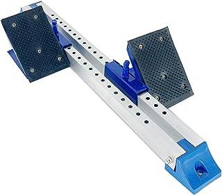HOTSTORE 启动块,多功能启动块,铝合金,适用于塑料跑道卷烟机轨道