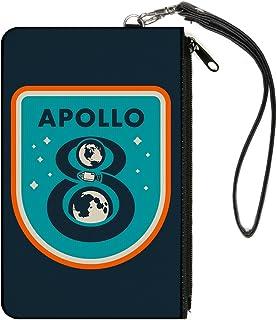 带扣拉链钱包 Apollo 8 大配件,Apollo 20.32 厘米,20.32 厘米 x 12.7 厘米