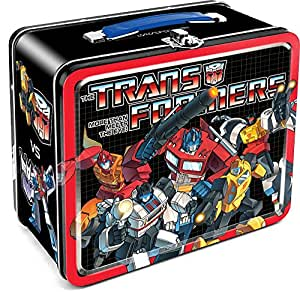 Aquarius Transformers Autobots vs Decepticons Tin Lunch Box