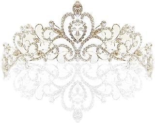 婚礼头饰水钻新娘头饰盛会公主皇冠水钻水晶