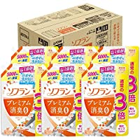 Sofan Premium消臭 柔软剂 香薰皂香味 詰め替え1350ml×6 6