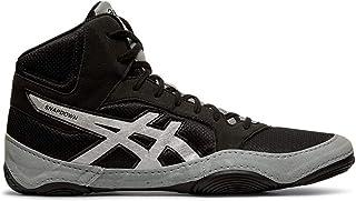 ASICS 中性款 Snapdown 2 摔跤鞋 黑色/银色 9 M US
