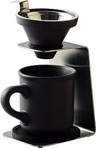 前畑 滴滤咖啡 单人用滤杯 灰色 ギフトセット 51642