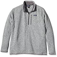 Patagonia Better Sweater 1/4 拉链羊毛男式套头衫