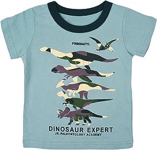 男童恐龙运动衫幼儿上衣 T 恤 3D 印花 T 恤 Rex Fun Dino 婴儿长袖套头衫 1-7T