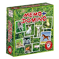 """Piatnik 6595""""Baby Animals Memory/Domino Game"""