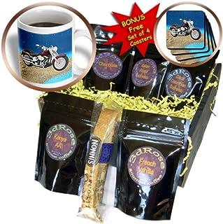 3dRose 哈雷戴维森摩托车咖啡礼品篮,多种颜色