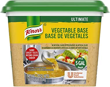 Knorr Ultimate Base Vegetable 1 lb, Pack of 6