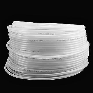 KEILEOHO RO 管外径1/4英寸(约0.6厘米)食品级Pex 管,328英尺(约91.9厘米),不含BPA的半透明聚乙烯管,用于反渗透系统和水过滤器,水族箱,咖啡机