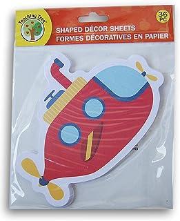 教学树纸形装饰纸 - 潜水艇 - 36 张