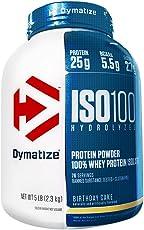 DYMATIZE 狄马泰斯 分离乳清蛋白 生日蛋糕味 2300g(进口)(特)