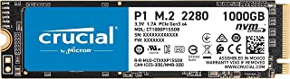 Crucial P1 1TB 3D NAND NVMe PCIe M.2 SSD - CT1000P1SSD8