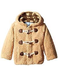 Wippette Little Boys' Wooly Fleece Toggle Coat 卡其色 4T