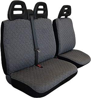 Lupex Shop Transporter CT A G 座椅套用于运输者 3 座高腰带,棉绗缝,灰色