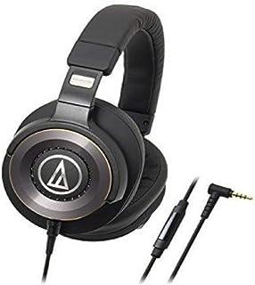 Audio-Technica 铁三角 ATH-WS1100iS 强劲低音头戴式耳机,带有直列式麦克风和控制功能
