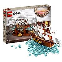 LEGO 乐高 Ideas 系列拼插类玩具 典藏瓶中船 21313(适用年龄:12岁+)