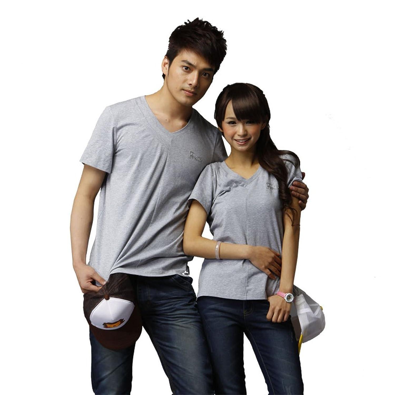 tom&lily 汤姆莉莉 亲子装系列 新款夏装原创单边双v领短袖纯棉t恤 tl
