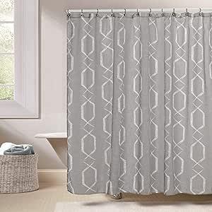 Duck River Textiles Arcadia Shower Curtain, Gray