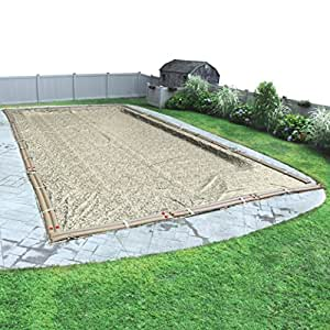 Pool Mate 531632R-PM 12-Year Camo Winter Cover for In-Ground Swimming Pool 25 x 50-Foot Pool