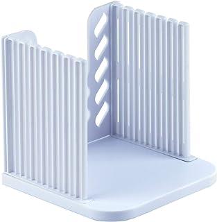 Supkiir 自制面包切片机 塑料家用吐司切片机 厚度可调,白色