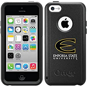 Emporia State designs on Black OtterBox® Commuter Series® Case for iPhone 5c Emporia State Primary Mark