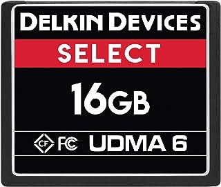 Delkin Devices 8GB Select 袖珍闪存卡 UDMA 6DDCFR50016GB 16GB