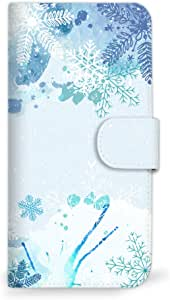 mitas 智能手机壳 手册式 冬季 雪 圣诞节 A 18_HUAWEI honor9 (STF-AL10)