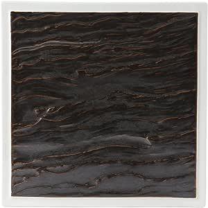 Tuxton Kona 熔岩/陶瓷白色方形板 30.48cm