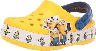 Crocs 卡骆驰 中性款趣味实验室小黄人多洞儿童鞋