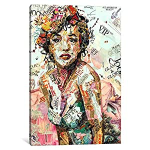 iCanvasART IKS3-1PC6-18x12 14 Glam Glory Canvas Print by Ines Kouidis, 18 x 12 x 1.5-Inch