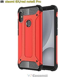 小米 Redmi Note 5 Cocomii 手机壳COMMANDO-XIAOMI-REDMI-NOTE5-RED C.Red