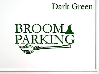 Vinylsay Parking 万圣节墙贴 哑光深绿色 44-Inch x 22-Inch rbg-ua-gb13174