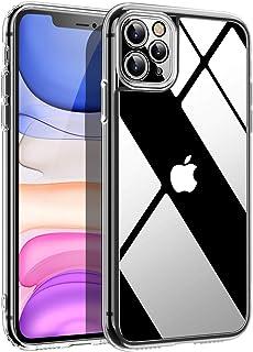 CAFELE 超清晰 iPhone 11 Pro Max 手机壳,防护防震硬质 PC 背壳和 [*级跌落测试]带减震 TPU 边缘盖手机壳适用于 iPhone 11 Pro Max-6.5 英寸