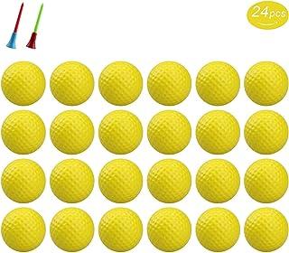 KJ-KayJI 练习高尔夫球,柔软弹性室内训练高尔夫球,适合家庭和办公室