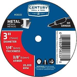 Century 钻和工具 0 4 英寸直径 X 1/4 英寸研磨轮 3-inch X 1/4-inch 8333