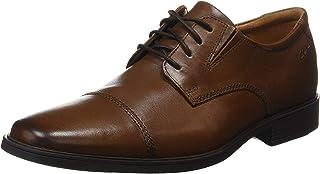 Clarks Tilden Cap 男士皮鞋 德比鞋