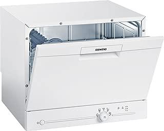 Siemens 西門子 SK25E203EU iQ100 SpeedMatic緊湊型洗碗機/A+/6 MGD/dosierAssistent/超靜音/iQdrive發動機/負荷傳感器/白色