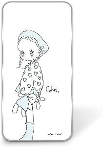 caho 手机壳透明硬壳印花毛绒玩具和小女孩手机壳适用所有机型  ぬいぐるみと少女B 1_ iPhone5