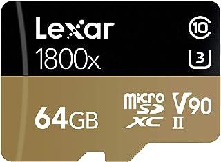 Lexar 雷克沙 Professional 1800x 64GB microSDXC UHS-II 存储卡