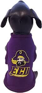 NCAA 东卡罗来纳海盗队棉质莱卡狗背心,XL 码
